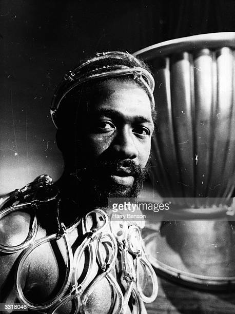 Actor Ben Vereen playing Judas in 'Jesus Christ Superstar' on Broadway.