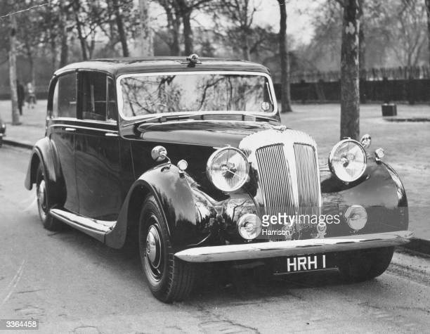 A 27 horsepower Daimler belonging to Princess Elizabeth The car was bought with part of the money which she and the Duke of Edinburgh received as a...