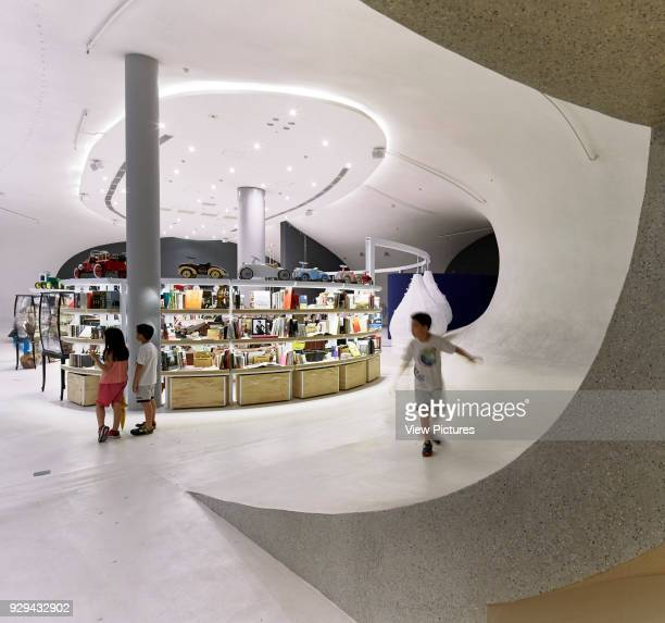 2nd floor Gift shop area National Taichung Theater Taichung China Architect Toyo Ito 2016