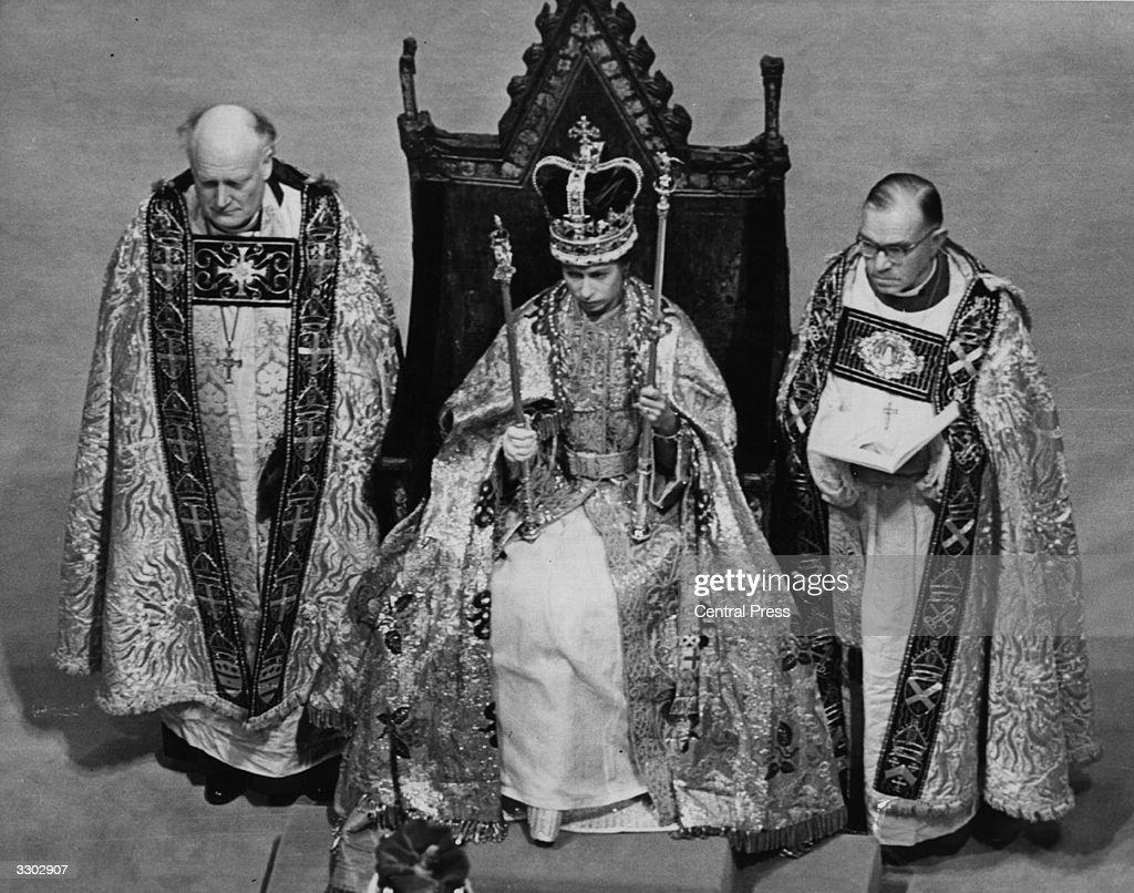 Crown And Symbols : News Photo