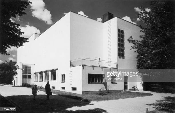 Viipuri Library in Vyborg designed by Finnish architect Alvar Aalto and completed in 1935 in the International Modernist style Now in Russia the town...