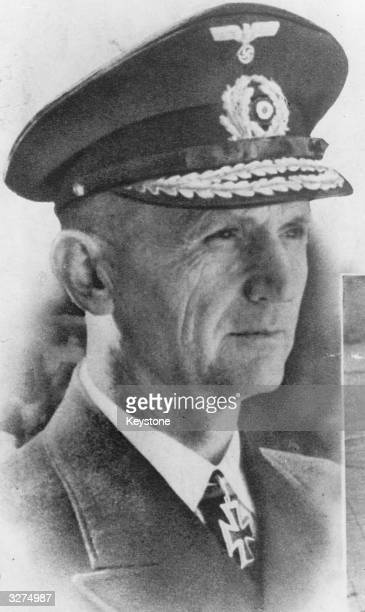 Karl Doenitz German politician and naval commander taking over as Fuhrer after Hitler's death He was responsible for the final surrender to the allies