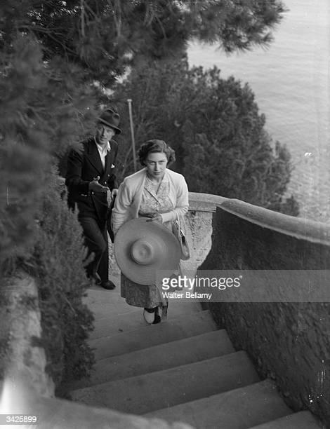 Princess Margaret on the Italian island of Capri