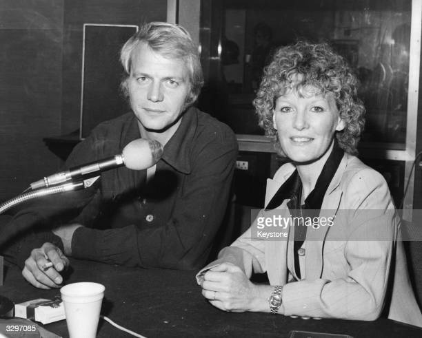 American actor and singer David Soul and Welsh singer Petula Clark guest together on Pete Murray's Radio 2 programme 'Open House'
