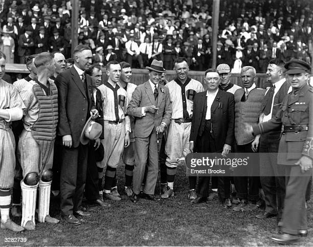 The Duke of Windsor then Edward Prince of Wales with the Calgary baseball team at Edmonton during his royal tour He reigned as King Edward VIII from...