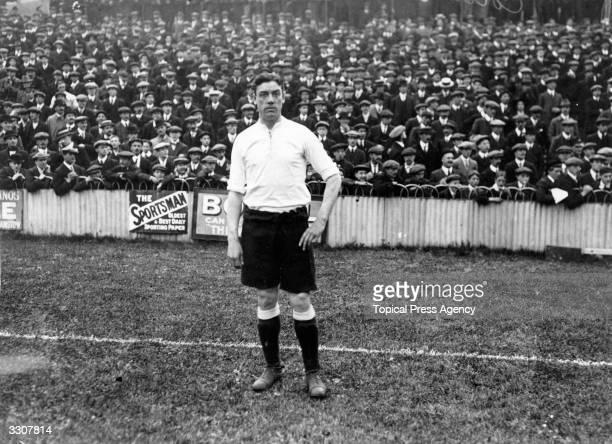 Tottenham Hotspur captain Collins before their match against Everton