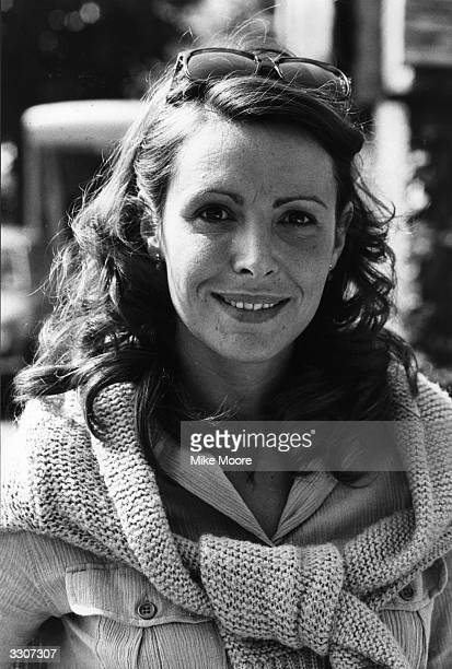Film and television actress Diane Keen taking a break during the filming of the 'Shillingbury Tales'