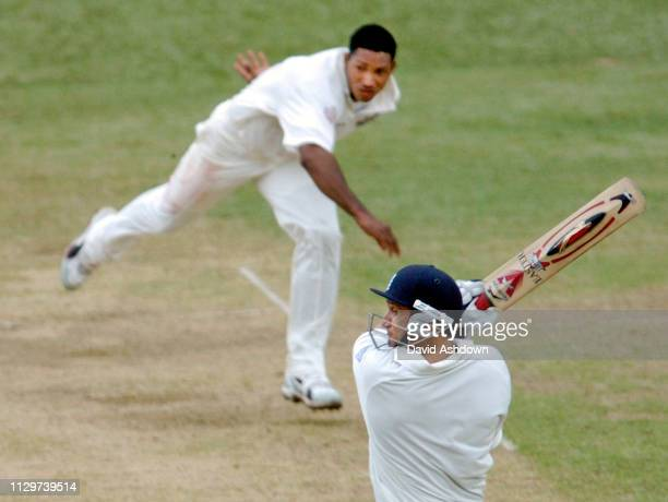 2nd TEST 2nd day 20/3/2004 AT THE QUEENS PARK OVAL PORT OF SPAIN TRINIDAD BUTCHER OFF SANFORD.