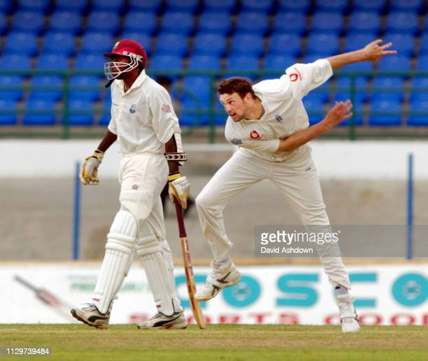 2nd TEST 2nd DAY 20/3/2004 AT THE QUEENS PARK OVAL PORT OF SPAIN TRINIDAD HARMONSON.