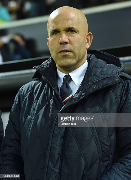 Fussball U21 LänderspielDeutschland Italien 22Trainer Luigi Di Biagio