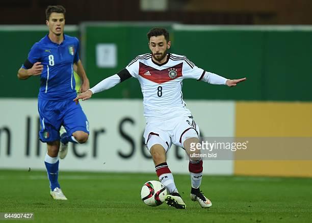 Fussball U21 LänderspielDeutschland Italien 22Yunus Malli