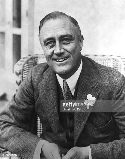 *30011882Politiker USA Demokraten32 Präsident 19331945 Porträt als Gouverneur von New York 1931 identisch mit Bild