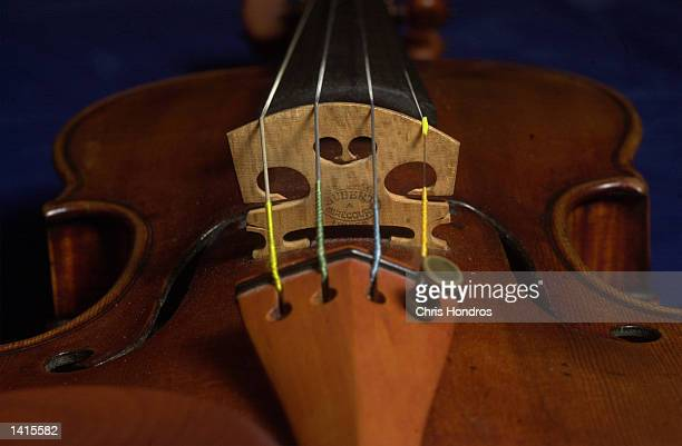 A 300yearold violin by Antonio Stradivari appears May 2 2000 in New York The violin known as 'The Taft' is the featured selection of a musical...