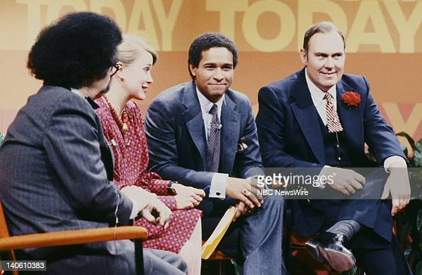 "30th Anniversary"" -- Pictured: NBC News' Gene Shalit, Jane Pauley, Bryant Gumbel, Willard Scott on January 14, 1982 -- Photo by: NBC/NBC NewsWire"