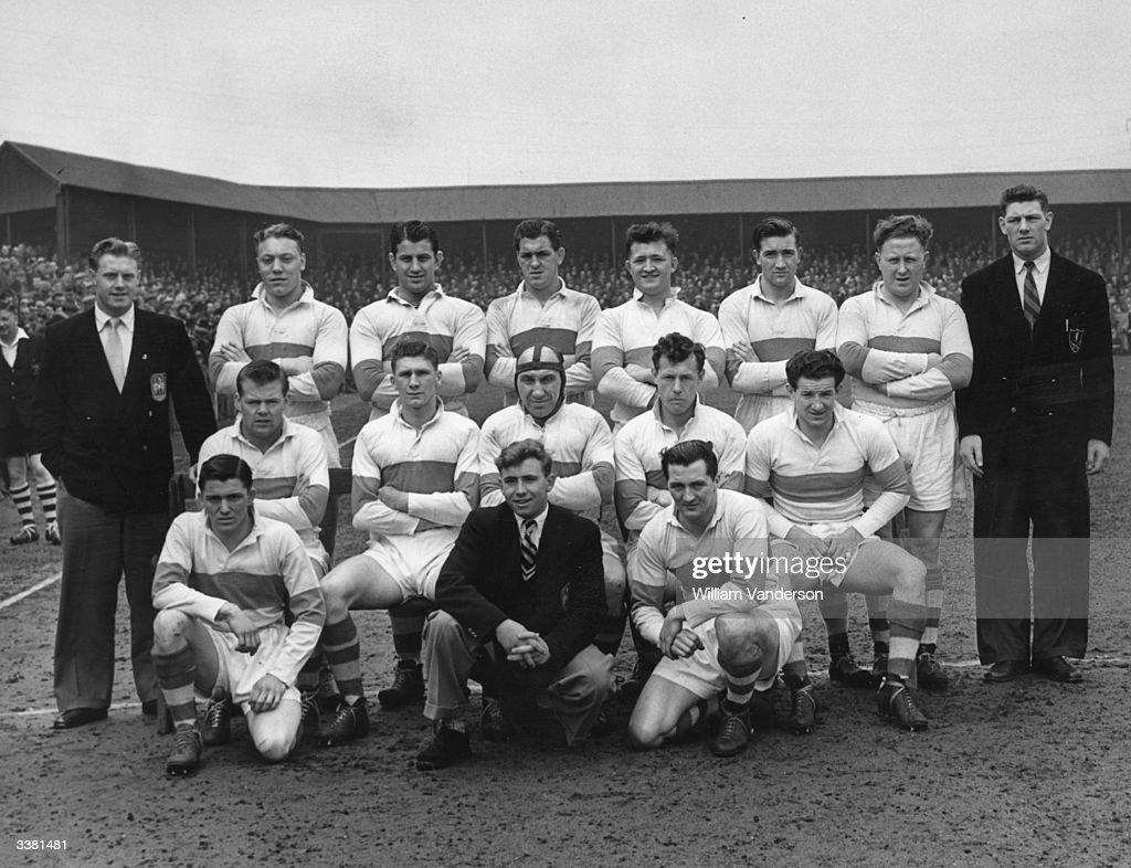 Workington Rugby Team : News Photo