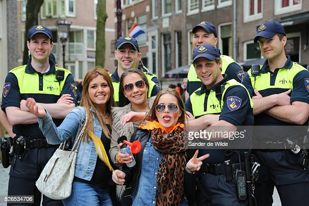 30th April 2013 Amsterdam Netherlands Queen Beatrix' abdication day where her son Prince WillemAlexander became King of the Netherlands The dutch...