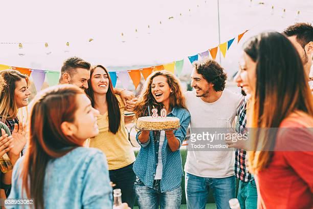30 歳の誕生日パーティー