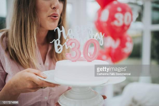 30th birthday - aniversario fotografías e imágenes de stock