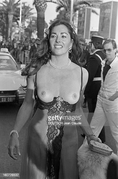30th Cannes Film Festival 1977 Cannes mai 1977 Lors du Festival internationnal du film de Cannes 1977 portrait de l'actrice Edy WILLIAMS souriante...