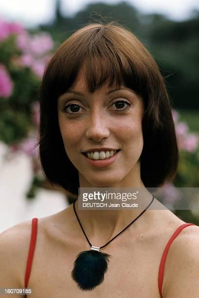 30th Cannes Film Festival 1977: Shelley Duvall. Le 30ème Festival de Cannes se déroule du 13 au 27 mai 1997 : plan de face souriant de Shelley DUVALL.