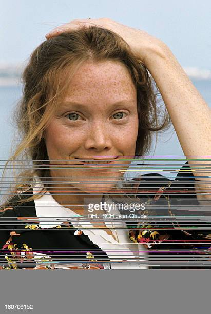 30th Cannes Film Festival 1977: Sissy Spacek. Le 30ème Festival de Cannes se déroule du 13 au 27 mai 1997 : plan de face souriant de Sissy SPACEK,...