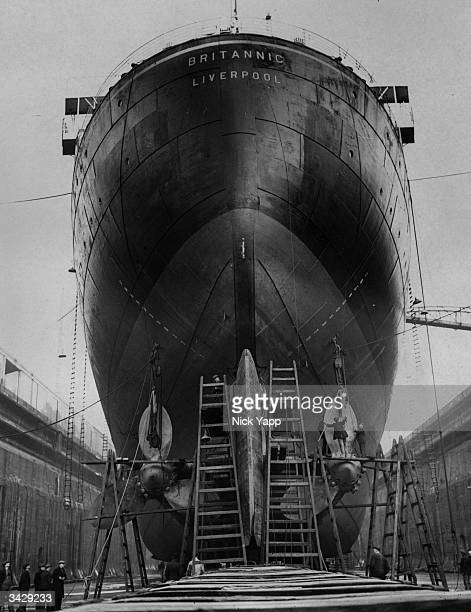 Britannic Engine Room: Harland And Wolff Shipyard Stock Photos And Pictures