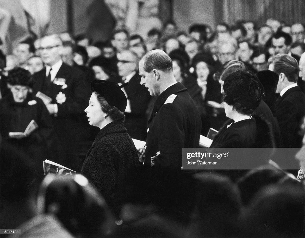 Churchill's Funeral : ニュース写真
