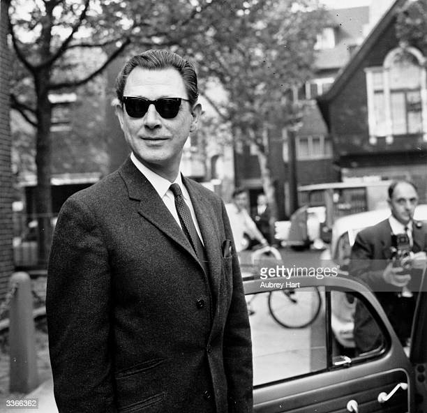 Society osteopath and key figure in the Profumo affair Dr Stephen Ward on trial for living off immoral earnings
