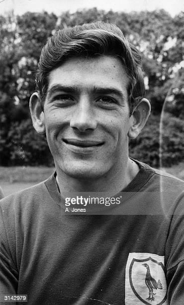 Tottenham Hotspur goalkeeper Pat Jennings