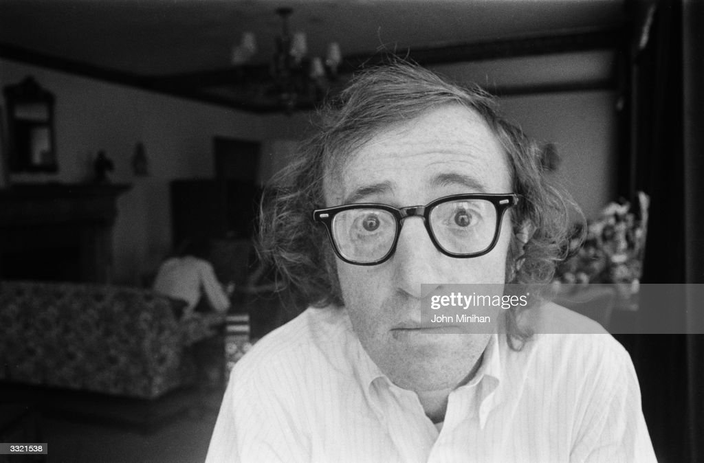 US film actor and director Woody Allen.