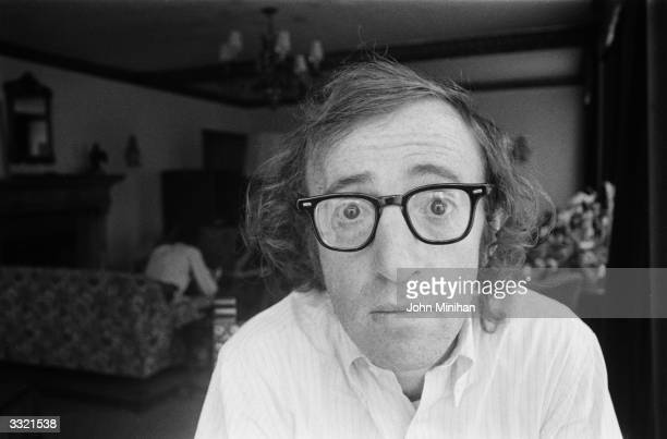 US film actor and director Woody Allen