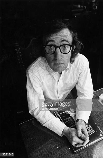 Film actor and director Woody Allen.