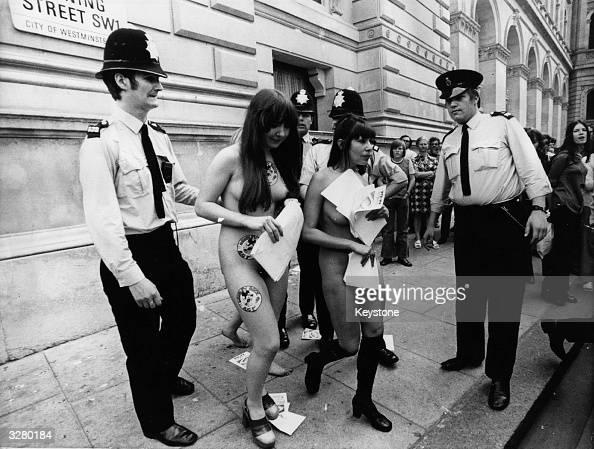nude girls arrested images