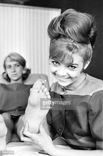 Television personality and foot beautician Janice Nicholls.