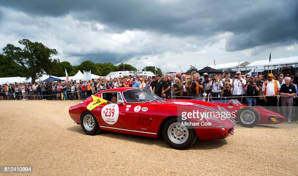 1966 Ferrari 275 GTB/C Celebrating 70 years of Ferrari on the front drive of Goodwood House at Goodwood on 30th June 2017 in Chichester England