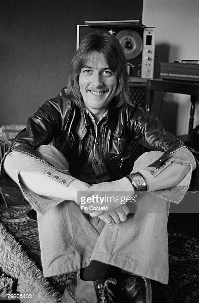 30th MARCH: Drummer Dave Holland from English rock group Trapeze posed in Wolverhampton, England on 30th March 1973.