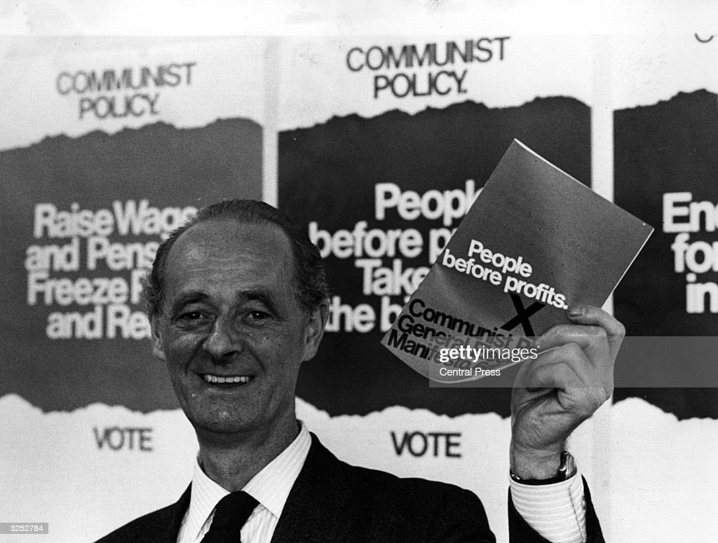 John Gollan, General Secretary of the British Communist