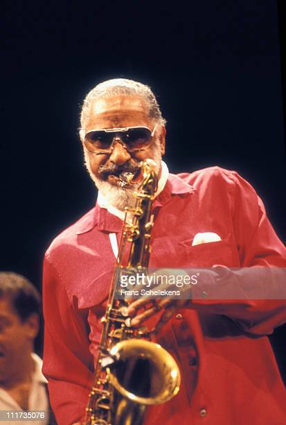 30th MAY: Tenor sax player Sonny Rollins performs at Muziektheater in Amsterdam, Netherlands on 30th May 1995.