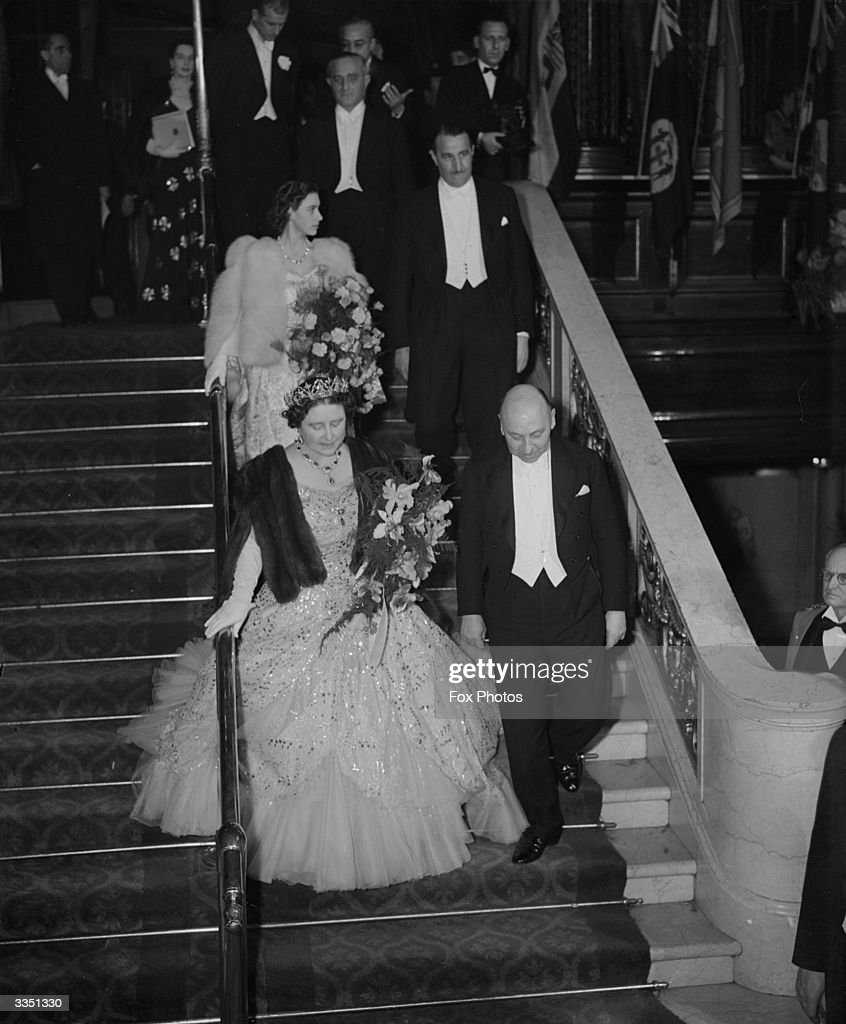 Queen And Princess : News Photo