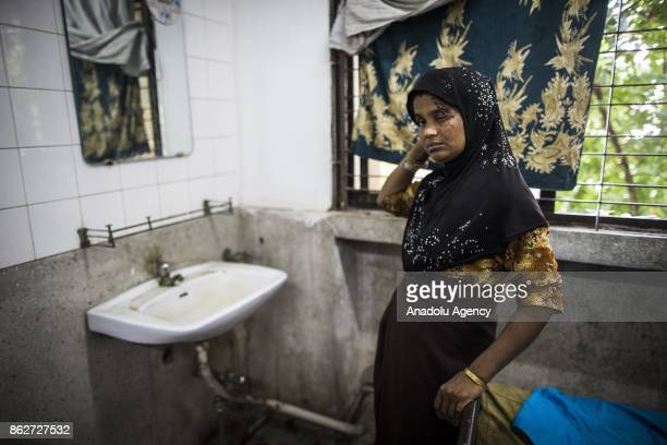 COX'S BAZAR BANGLADESH OCTOBER 1 30yearold Gultas Begom recovers from her wounds in the Sadar Hospital in the Bangladeshi town of Cox's Bazar on...