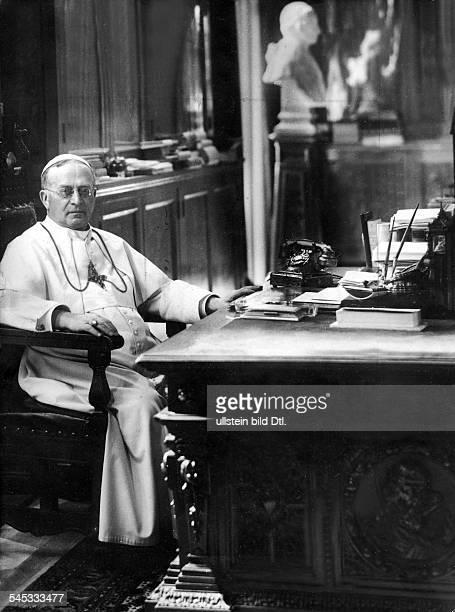 Papst 1922-1939eigentl. Ambroghio D. Achille Ratti, Italien- um 1930