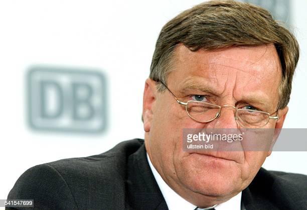 Ingenieur Manager DVorstandsvorsitzender Deutsche Bahn AGPorträt