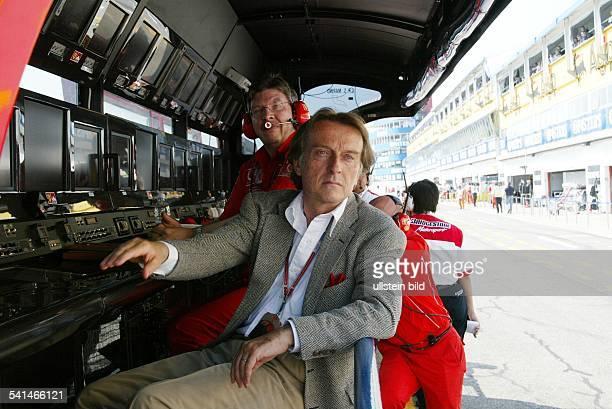 Unternehmer Manager Sportfunktionär ItalienPräsident von Ferrari und FiatPräsident Confindustria und Ross Brawn TechnikDirektor von Ferrari beim...