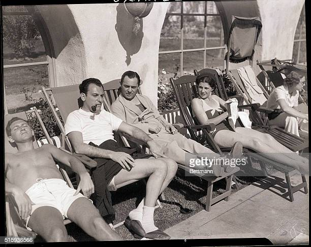 3/1/1933Palm Springs CA Among the notables snapped at Palm Springs are Richard Rogers and Moss Hart of New York who are teamed up to write songs for...