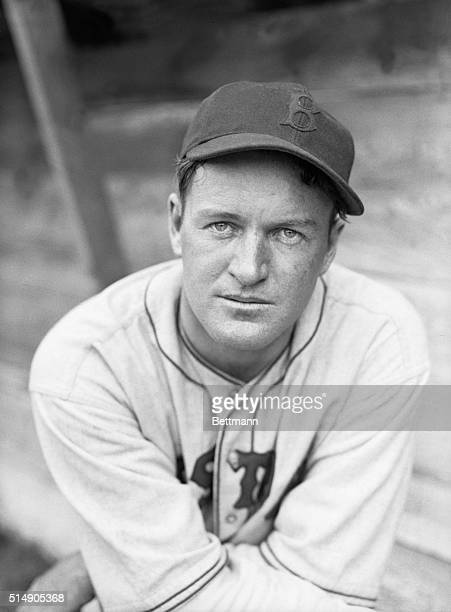 Photo shows Joe Cronin, Manager of the Boston Red Sox, which started spring training in FL. This is a closeup photograph.