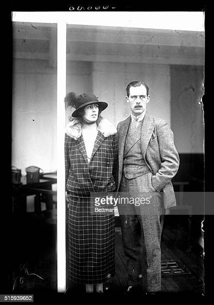 3/13/1923New York NY Photo is of the right Hon Lord and Lady Rodney who arrived in New York on the SS Baltic They are to proceed to their estate and...