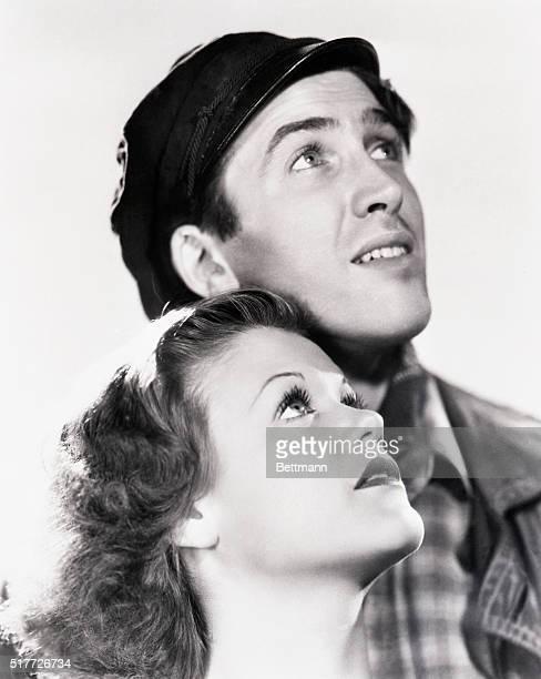 3/13/1937James Stewart and Simone Simon