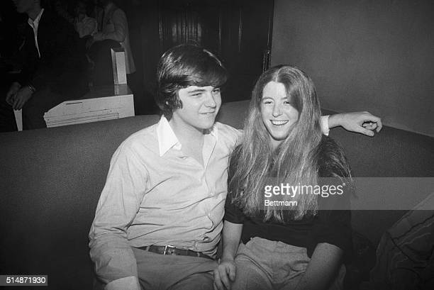 3/16/1980New York NY William Smith and Robin Lawford seem to be enjoying themselves as they attend a fundraiser for their uncle Senator Edward M...