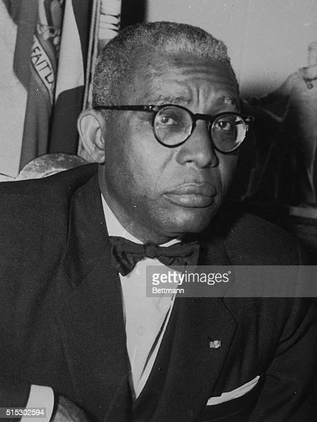 3/18/1962PortAuPrince Haiti In an exclusive UPI interview President Francoise Duvalier of small crowded Haiti was asked how his image as a devoted...