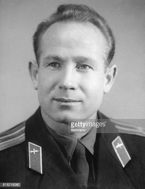 The Soviets orbited two cosmonauts around the earth in a 'space bus' 3/18 The craft carried Col Pavel Belyayev the pilot and Lt Col Alexei Leonov the...